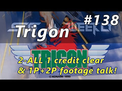 Shooting Game Weekly #138: Trigon/Lightning Fighters