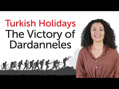 Turkish Holidays - The Victory of Dardanneles - Çanakkale Zaferi