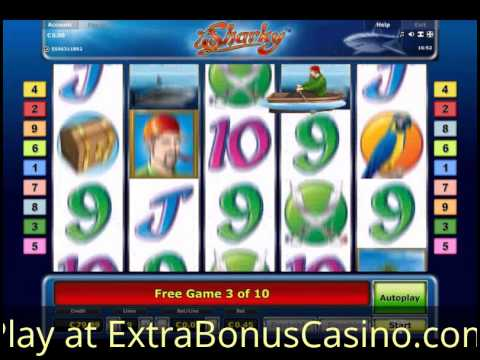 start online casino sharky slot