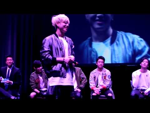 Yugyeom sexy dance @ GOT7 fanmeeting in Dallas - YouTube