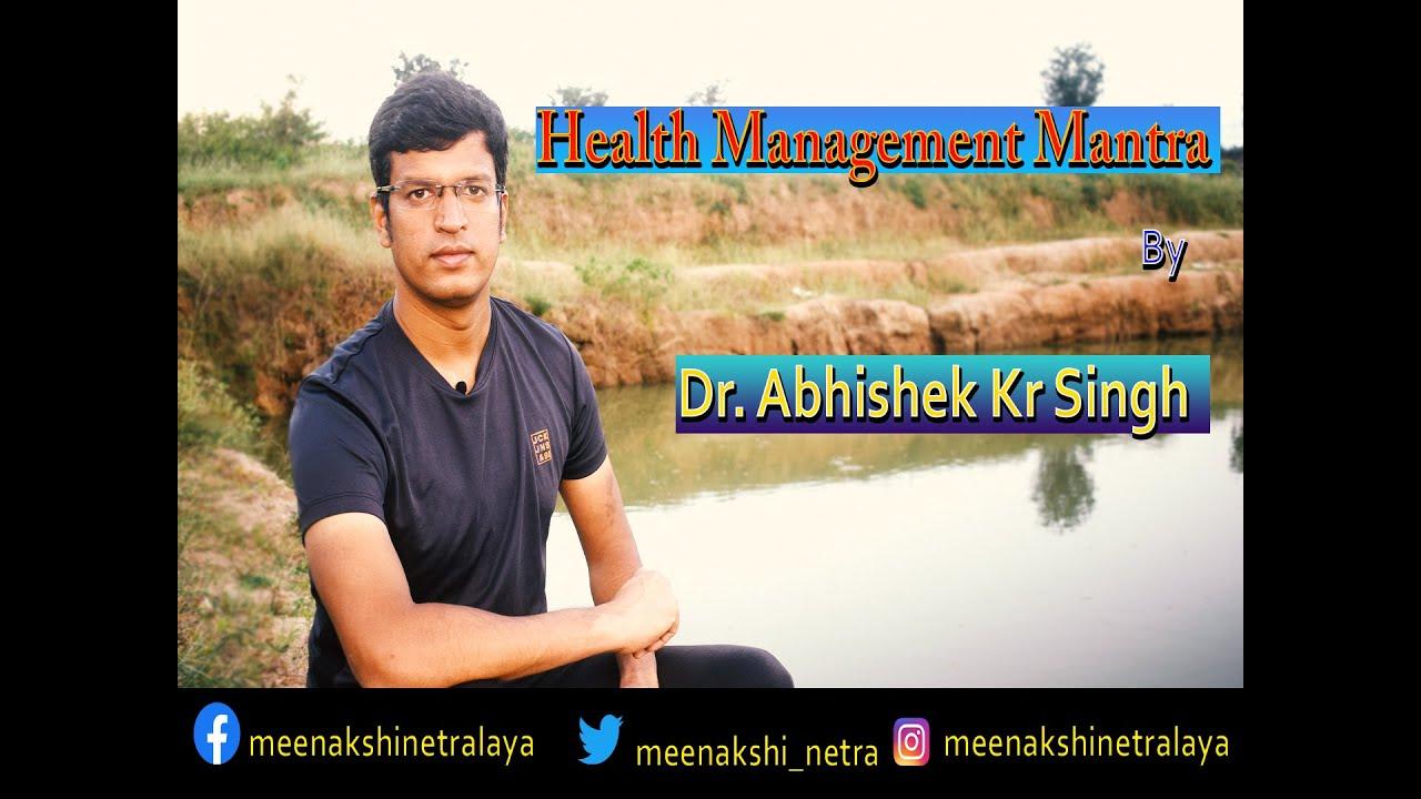 Download Health Management Mantra || Doc Talk With Dr. Abhishek Kumar Singh