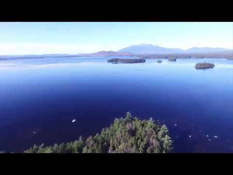 Millinocket drone - Mt Katahdin