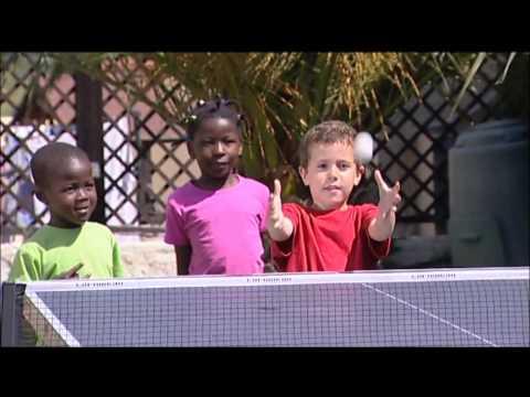Обучение детей 4-7 лет настольному теннису