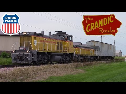 CRANDIC North Liberty Job And UP Coal Empties At Norway, IA - 8-26-16