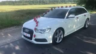 Auto do ślubu - Audi A6 S-line - Inowrocław