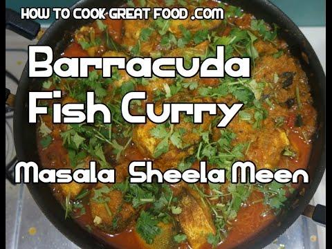 b2a3af4126d4 Barracuda Fish Curry Masala - Sheela Meen - Indian Seela - YouTube