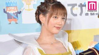 【モデルプレス】モデルで女優の本田翼が12日、都内で行われた新CM披露...