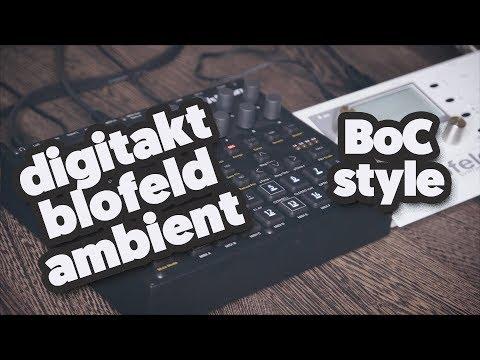 Elektron Digitakt & Waldorf Blofeld, boards of canada kinda beat. (demo)