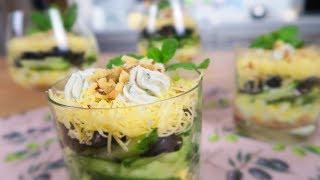 Самый вкусный салат с ТУНЦОМ. Ну до чего же НЕЖНЫЙ и АППЕТИТНЫЙ!