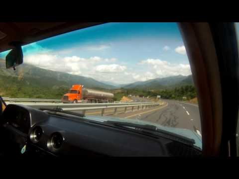 Mercedes Benz w123 250 Road Trip GoPro Bogota to Cartagena, Colombia 1