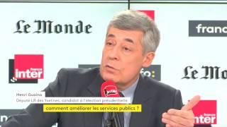 Henri Guaino répond aux auditeurs de Questions politiques