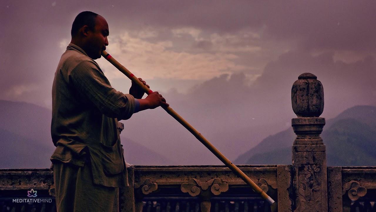 TIBETAN FLUTE MUSIC + OM CHANTING @432Hz ❯ Mantra Meditation Music