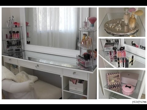 organizing my vanity room - youtube