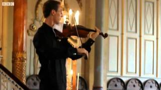 BBC News - Soloist Lukas Kmit hits right note on phone intrusion.mp4