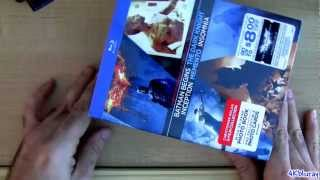 Christopher Nolan Blu ray Director's Collection Unboxing Review 5 Movies Dark Knight Batman