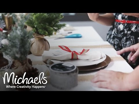 Holiday Décor, Tablescape & Gift Ideas | Made with Michaels Live