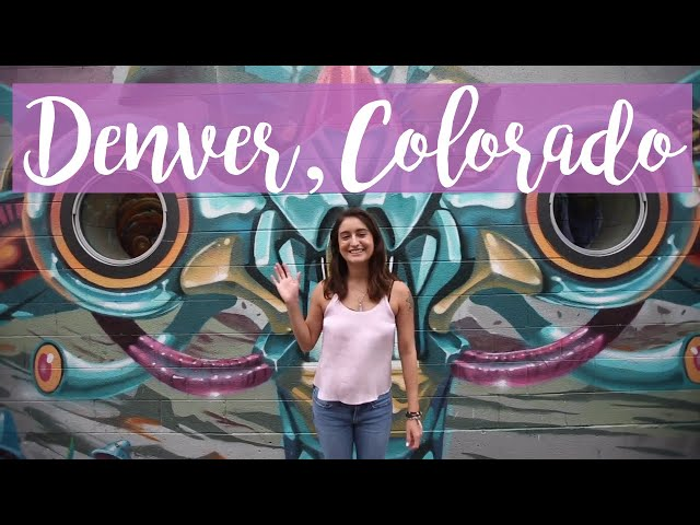 48hrs in Denver, Colorado // Wow Air Travel Guide Application