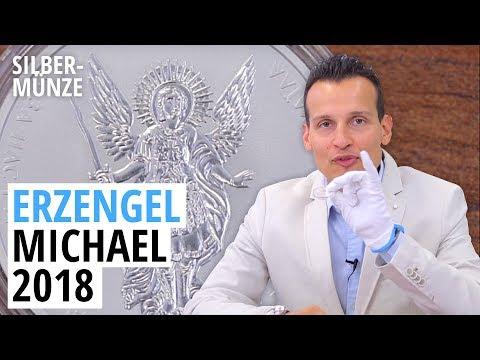 1 Unze Silber ⚡ Erzengel Michael 2018 ⚡ 25.000 Stück