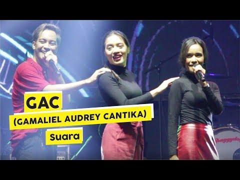 [HD] GAC (Gamaliel Audrey Cantika) - Suara (Live At KICKFEST 2018)