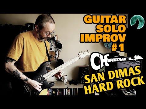 Guitar Solo Improv #1 | Charvel San Dimas Hard Rock