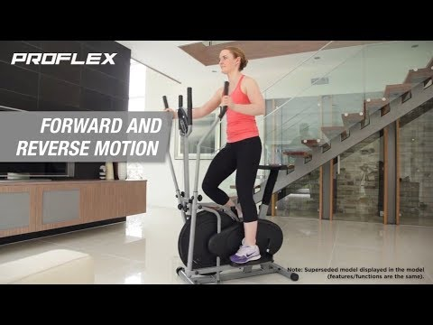 Proflex 5 in 1 Exercise Bike & Cross Trainer- XTR3 Elite