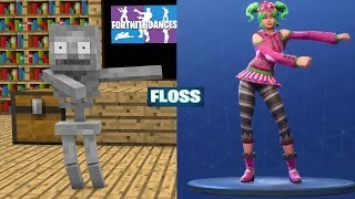 Monster School : FORTNITE BATTLE ROYALE DANCE CHALLENGE All EPISODES- Minecraft Animation