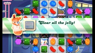 Candy Crush Saga Level 843 walkthrough (no boosters)