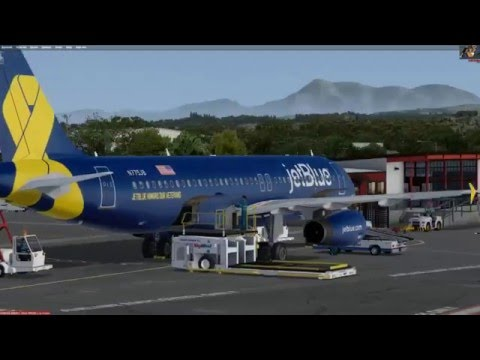 Sonoma to Lake Tahoe Orbx Scenery  and Aerosoft A320 with MCE