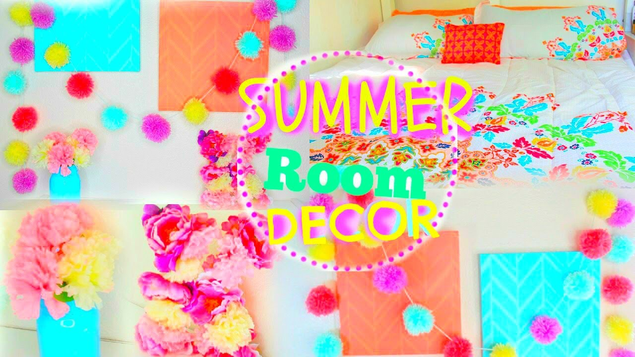 Diy summer room decor 2015 tumblr pinterest inspired for Room decor ideas summer