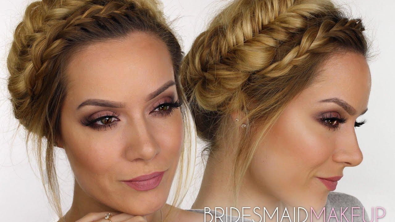 Bridesmaid MakeUp Tutorial | Rosy Hues