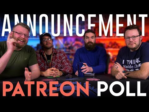 Patreon Show Poll ANNOUNCEMENT!! (Replacing Legend of Korra)