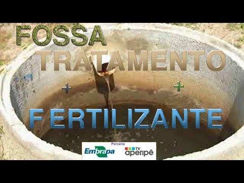 Fossa séptica biodigestora. Além de tratar dejetos humanos fornece um excelente fertilizante