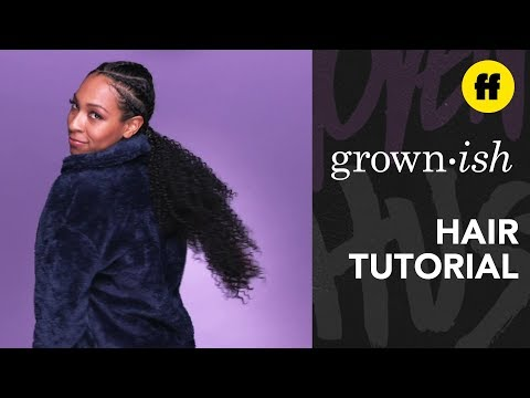 grown-ish-|-hair-tutorials:-braided-pony-|-freeform