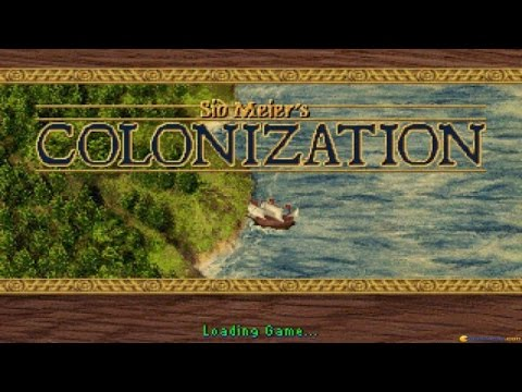 Colonization gameplay (PC Game, 1994)