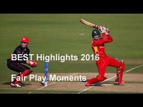 BEST Highlights 2016  Cricket ● RESPECT ● Fair Play Moments    Gentleman of Cricket