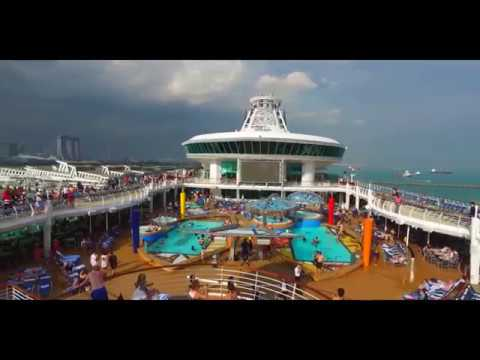 Asian cruise ship tour with Mariner of the Seas 2017
