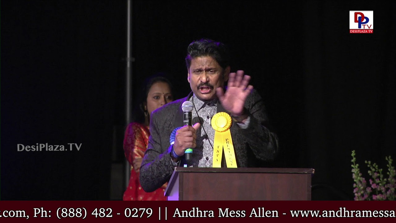 Actor Haranath Policherla ferocious speech at American Telugu Convention Banquet Night | DesiplazaTV