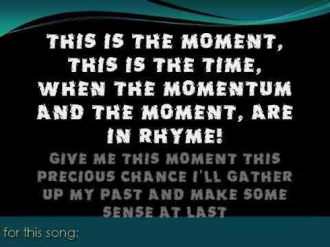 THIS IS THE MOMENT (Dr. Jekyll & Mr. Hyde) -Cover/Lyrics