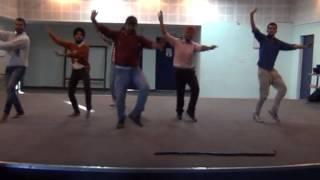 33 bhangra basic step