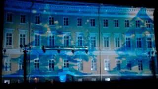 Лазерное шоу Питер Дворцовая Площадь
