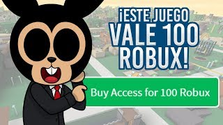 ROBLOX: THIS GAME VALE 100 ROBUX, BUT... IS IT SO GOOD? Alone