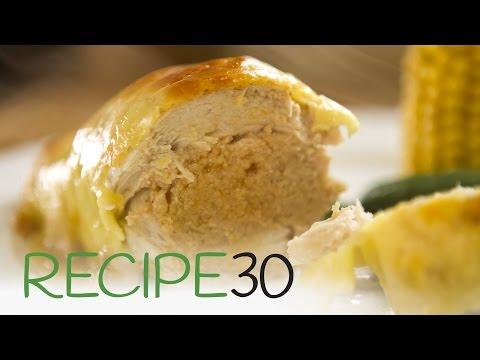 Chicken Cordon Bleu Alternative - By RECIPE30.com