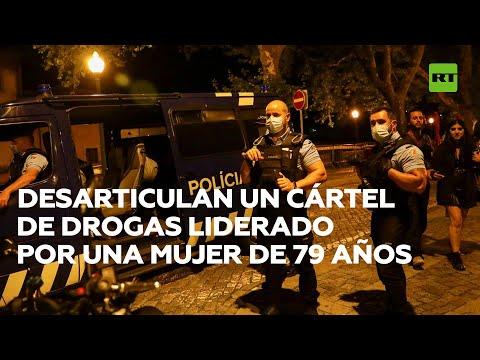 Desarticulan en Portugal un cártel de drogas liderado por una mujer de 79 años