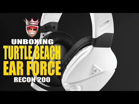 Unboxing Turtle Beach Recon 200