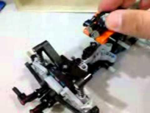 lego technic quad bike alt model moving the front wheels. Black Bedroom Furniture Sets. Home Design Ideas