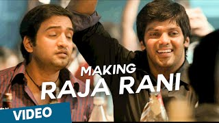 Raja Rani | Making of Hey Baby