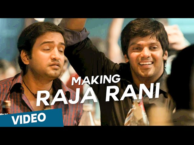 Raja Rani | Making of Hey Baby Travel Video