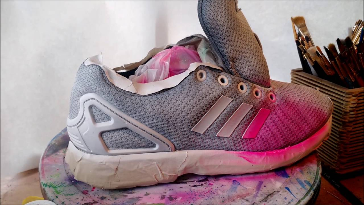 755f1b2f7fa8 Custom Adidas ZX Flux Timelapse - YouTube
