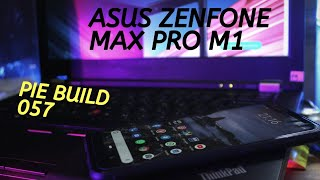 Review Android Pie Build 057 di Asus Zenfone Max Pro M1
