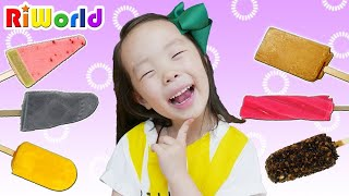 [25 minute] Funny Ice Cream shop play. Family Fun. Kids Toy RIWORLD